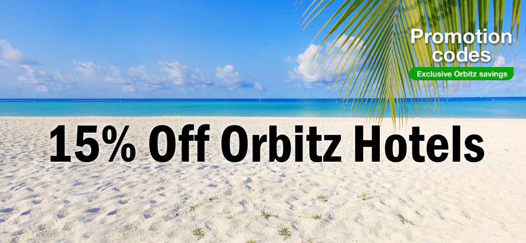 Exclusive Orbitz Promo Code Deal: Save an extra 15% on Hotel Bookings and Stays which are already on sale for up to 50% off at touchbase.ml Orbitz Coupon Terms – Book a qualifying hotel by November 27, PM CST, for 1 or more nights for travel by 3/31/19, via Orbitz and instantly receive 15% off through the use of the promotion code.